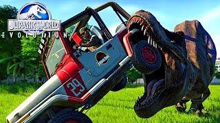 Jurassic World Evolution - Sabotagem No Parque, Tiranossauro Rex Escapou! | (#23) (PT-BR)
