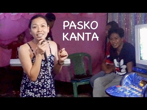 Karaoke Christmas and a Happy New Year - Philippine daily life