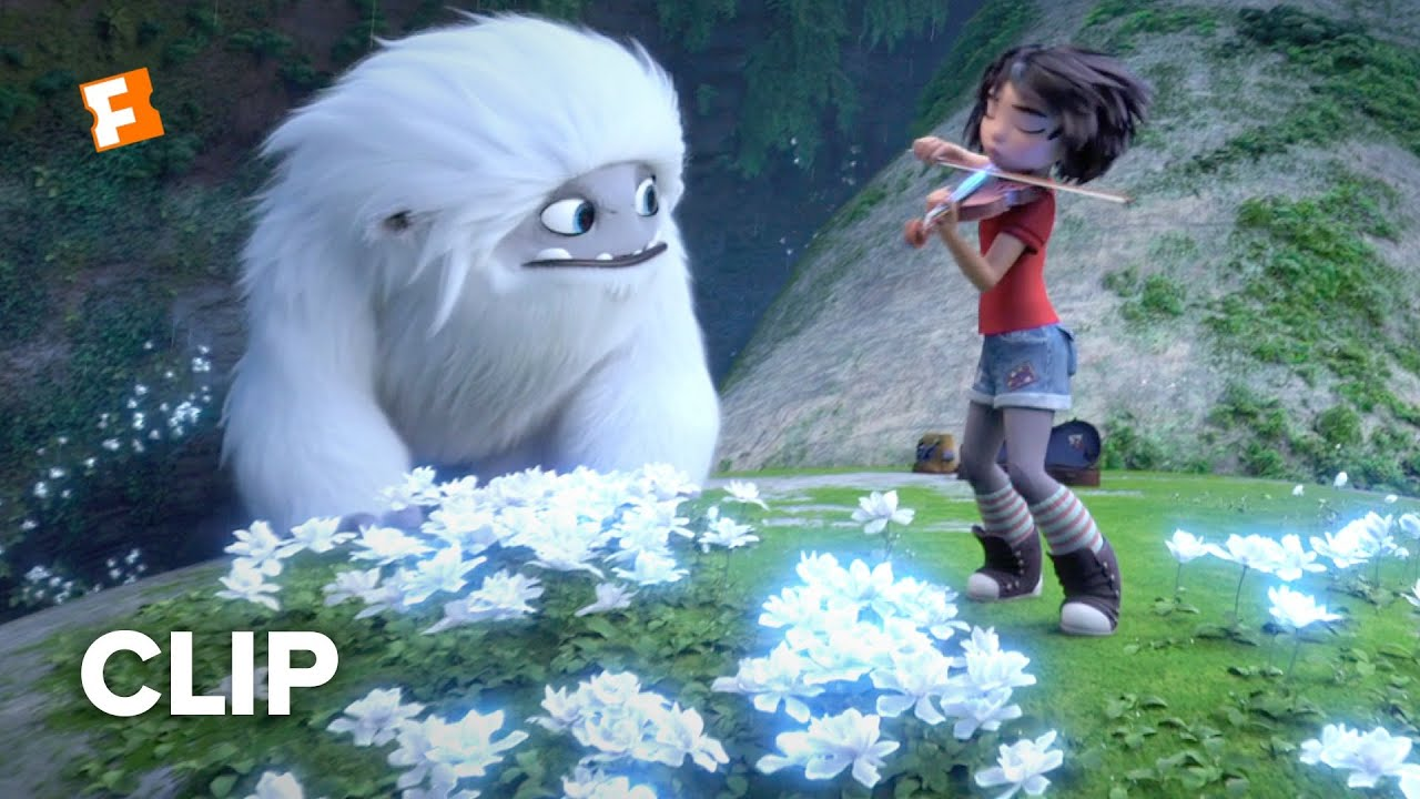 Abominable Movie Clip Yi Magically Makes Flowers Bloom On The