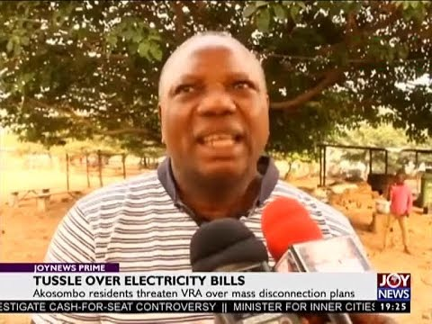 Tussle Over Electricity Bills - Joy News Prime (5-1-18)