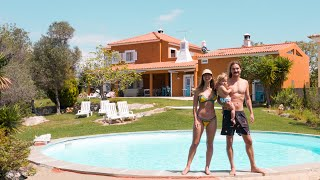 Ditching our Boat for THIS! Our European Romance Novel Villa