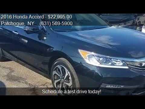 2016 Honda Accord EX L w/Navi w/Honda Sensing 4dr Sedan and