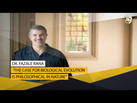 Dr. Fazale Rana: The Case for Biological Evolution Is Philosophical in Nature