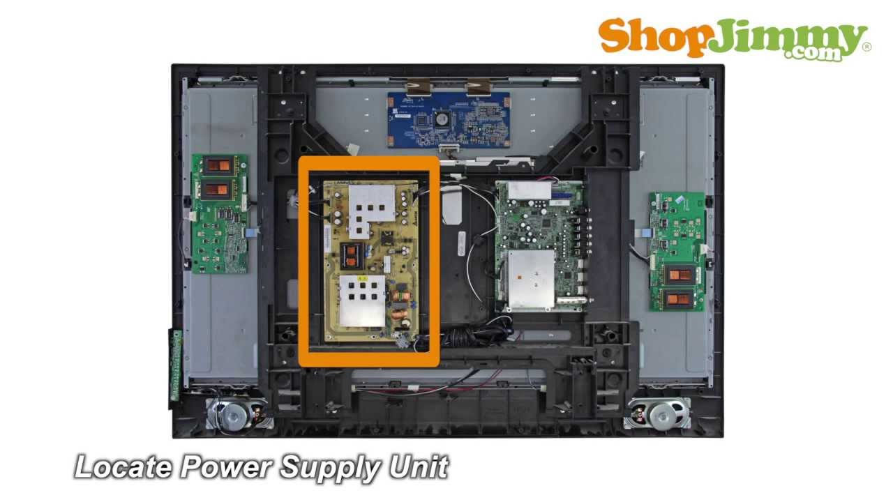 medium resolution of sanyo dp power supply unit psu boards replacement guide for sanyo lcd tv repair youtube