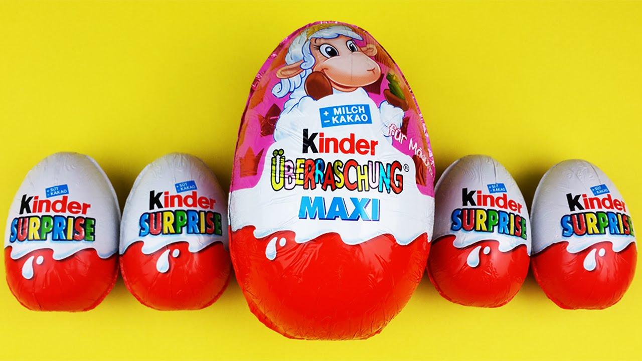 5 kinder surprise eggs opening kinder berraschung maxi kinder toys polly pocket toys youtube. Black Bedroom Furniture Sets. Home Design Ideas