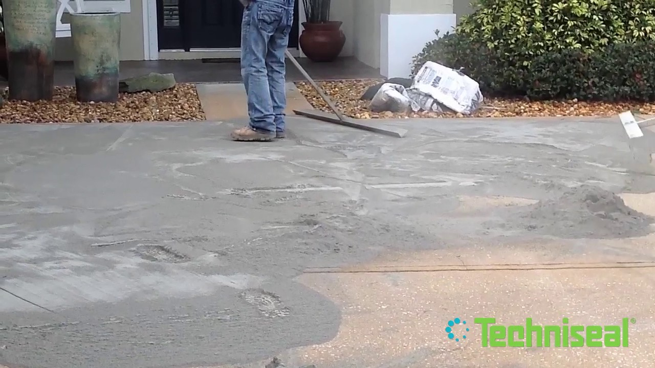 try dribond and thin overlay pavers