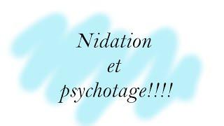 4 dpo, nidation et psychotage !!