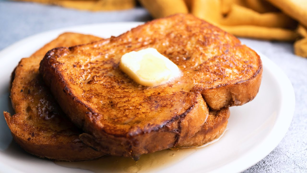 Rich & Decadent French Toast