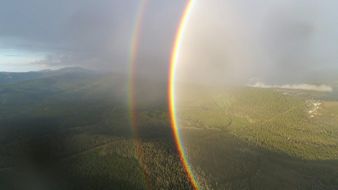 Double Full Circle Rainbow