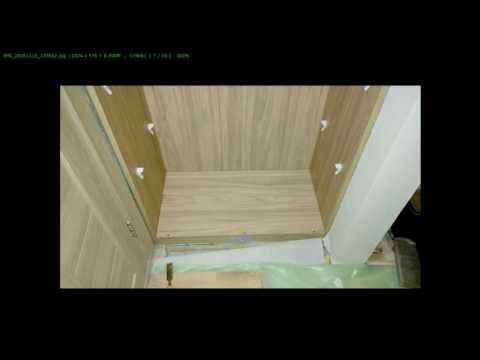 Как сделать шкаф самому в нише