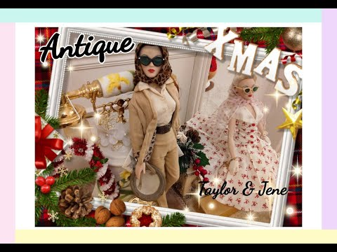 Tyler and Jene ~Antique Doll Collection in Rose Castle(寧謐耶誕夜)