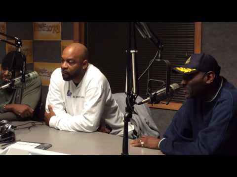 The Delfonics revue radio interview in Charleston S.C. (2014)