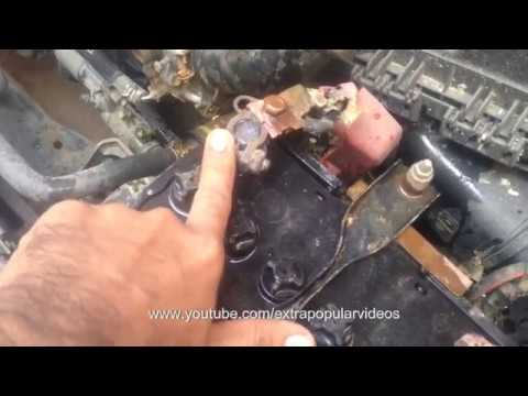 Car Starting Problems Hindi | HOW TO REMOVE BATTERY CORROSION Urdu