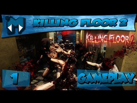 KILLING FLOOR 2 COOP #1 - ADRENALINA, METAL E FRENETICIDADE / Gameplay 1080p 60fps PT-BR