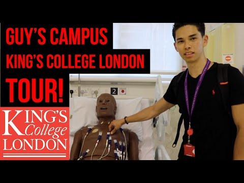 Guy's Campus King's College London Tour | With Atousa!