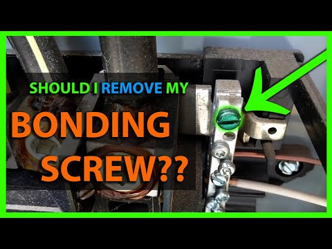 What Is A Neutral Bonding Screw In A Main Or Sub Panel Load Center & Should It Be Used Or Removed?