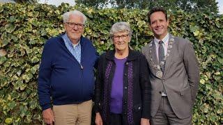 Echtpaar Lankhorst uit Hierden 60 jaar getrouwd