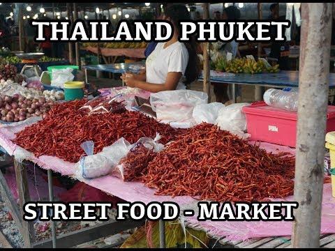 Street Market Phuket Thailand - Thai#howtocook #streetfood #foodvlogs - Patong Rawai Karon Chalong