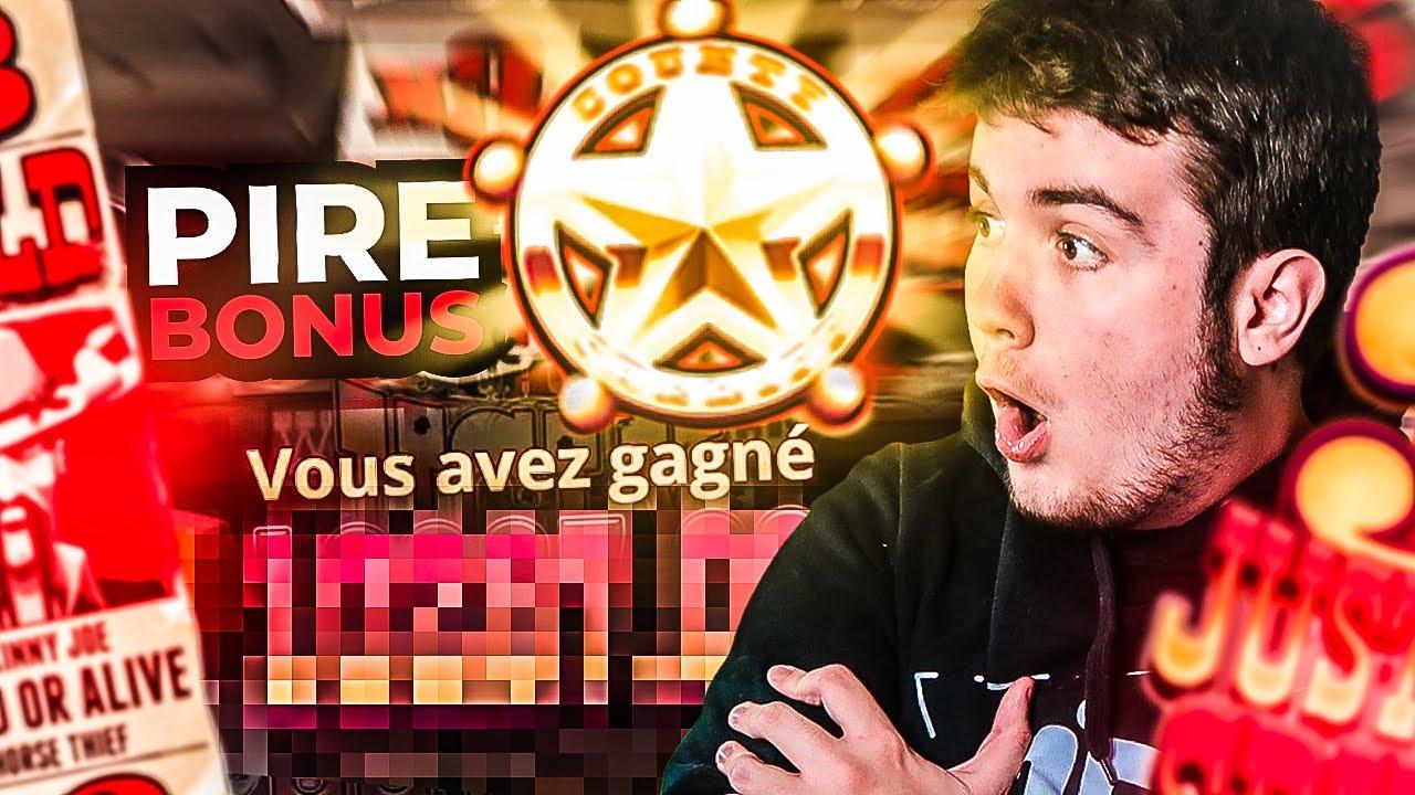 Le PIRE bonus du slot game qui paye ! (BEST OF BIDULE)