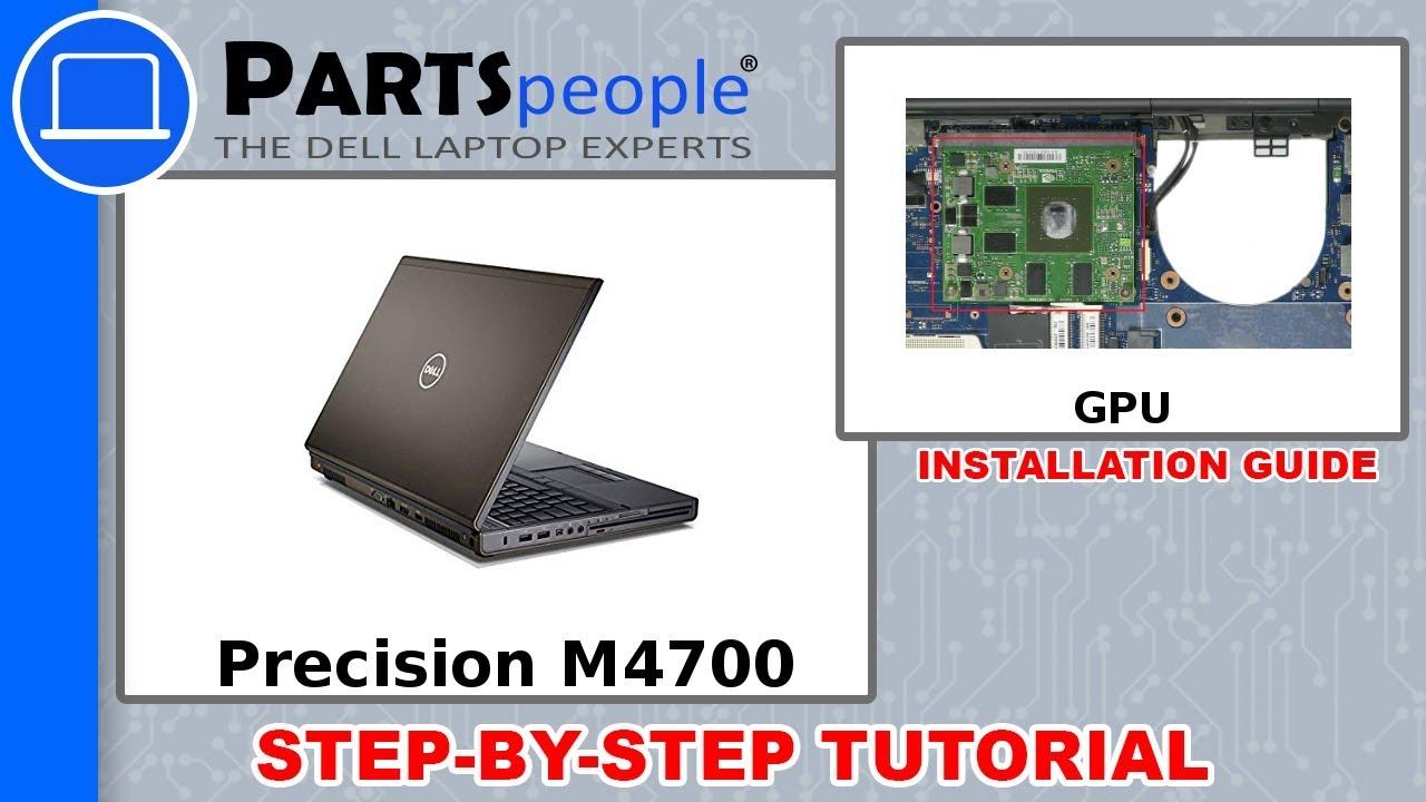 Dell Precision M4700 (P21F001) GPU How-To Video Tutorial