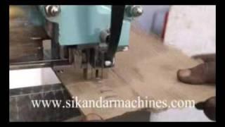 Box Stitcher Machine Straight Head