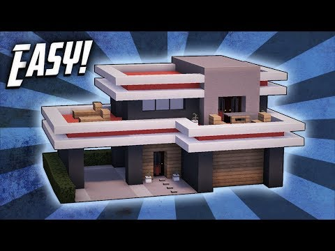 Habbo retro how to build a modern house interior doovi - Minecraft haus modern ...