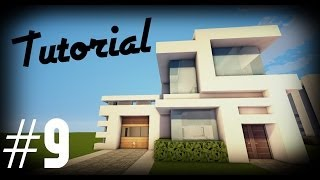 vuclip Minecraft: Como hacer una casa moderna | #9 - Tutoriales construcciones!