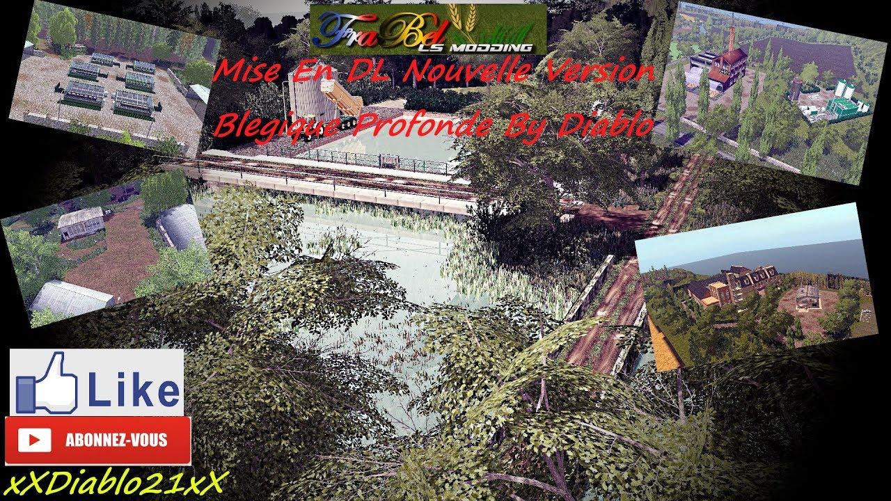fs17 mise en dl nouvelle version belgique profonde modifier map by frabel ls modding youtube. Black Bedroom Furniture Sets. Home Design Ideas