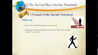 FA5 Income Statement Accrual Basis