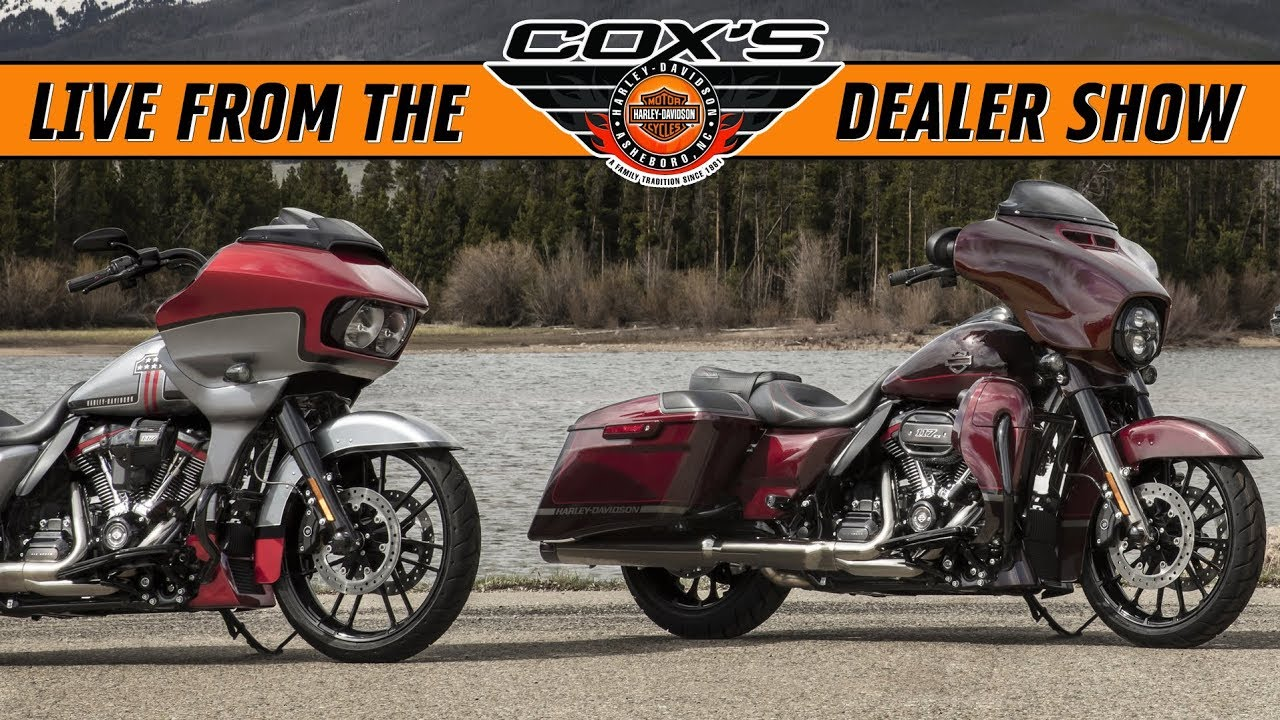 16dd093a99f54e 2019 Harley-Davidson CVO Lineup First Look! FLHTKSE FLTRXSE FLHXSE Street  Glide Road Glide Limited