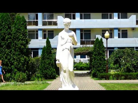 Санаторий Предгорье Кавказа г.Горячий ключ прогулка по парку июль 2016