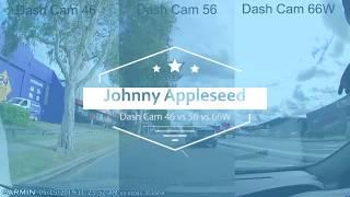 Garmin Dash Cam Comparison 46 56 and 66W Full Comparison