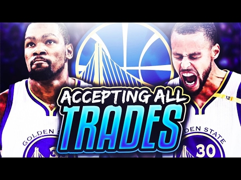 ACCEPTING EVERY TRADE CHALLENGE WITH THE WARRIORS!