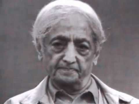 Jiddu Krishnamurti: Living Without Images