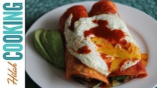 Breakfast Enchiladas! |  Hilah Cooking
