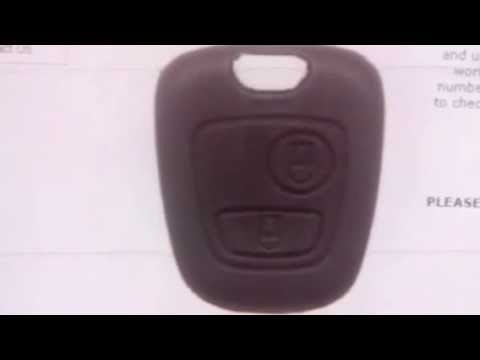 Citroen 2 Button Remote C3 After 2002 (6554RE) See Also NWKS48 - SAL-CTN-AKRM10