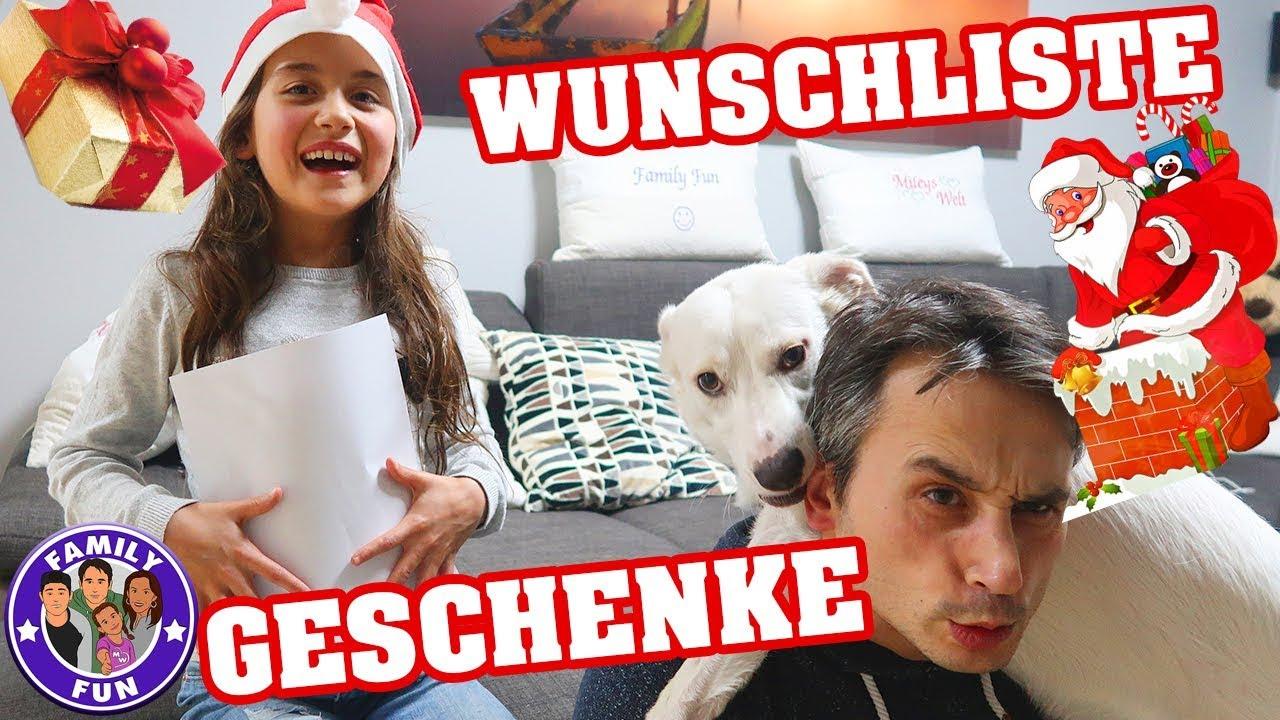 Verrückte Geschenke Wunschliste Weihnachten Vlog #159 Our life ...