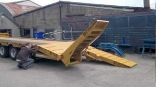Dooley Dump and Low loader Trailers