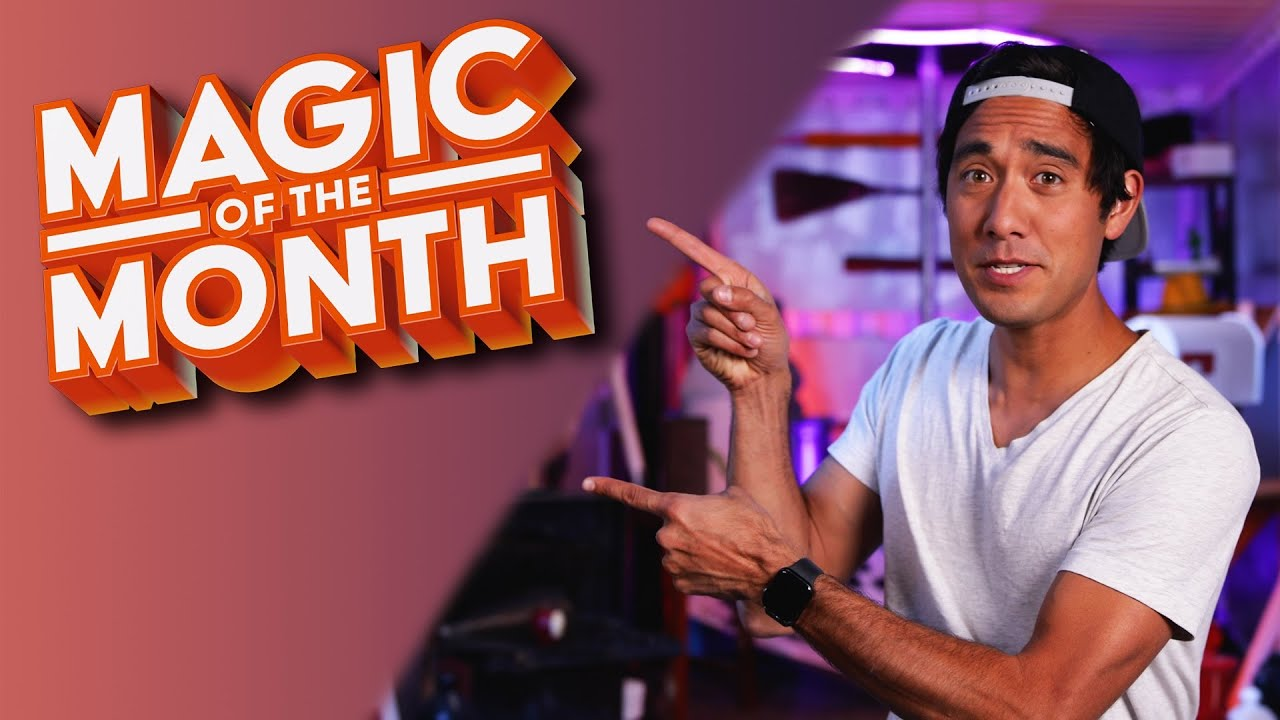 Recreating a Zach King Video | MAGIC OF THE MONTH - May 2021