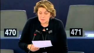 Intervento in aula di Caterina Chinnici sulla protezione delle vittime del terrorismo