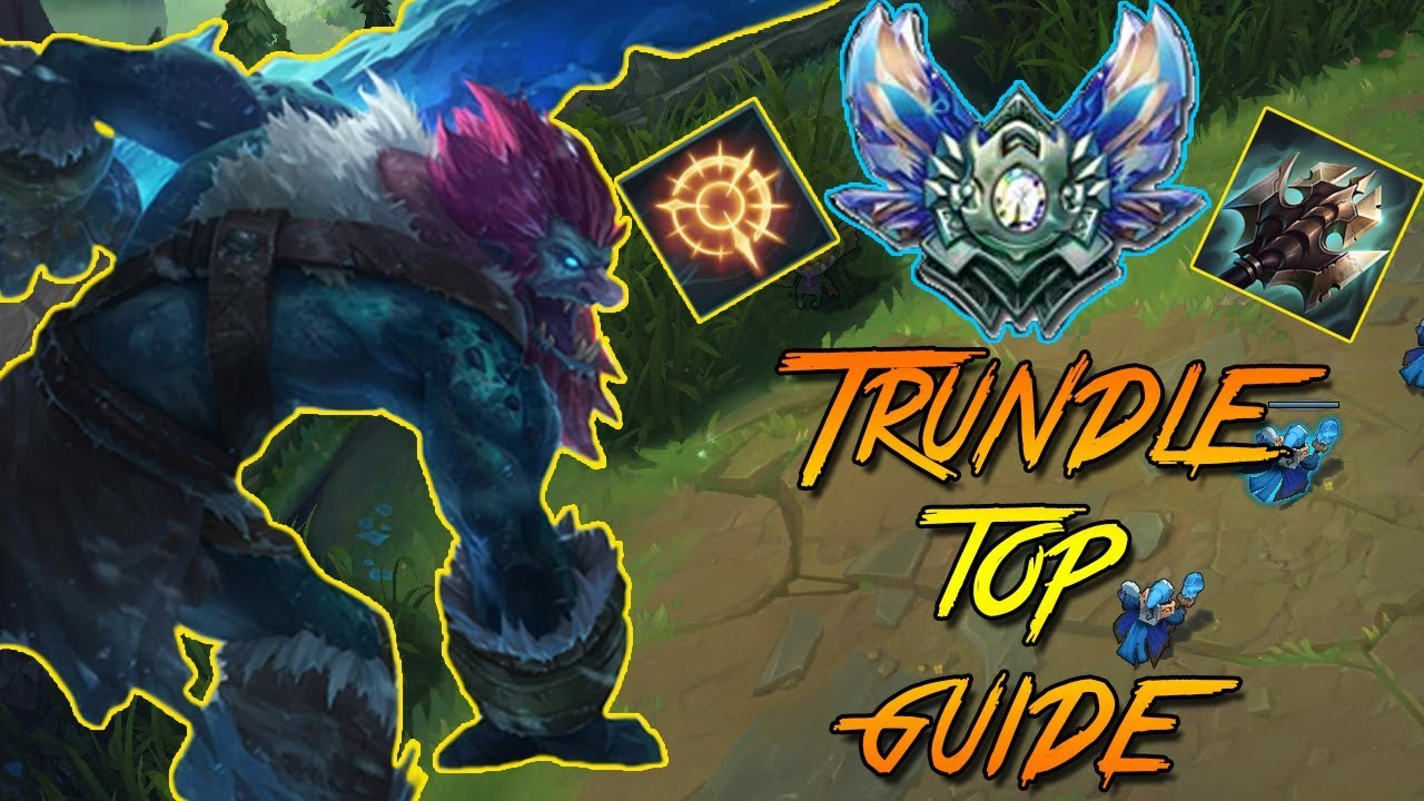 trundle build guide trundle top