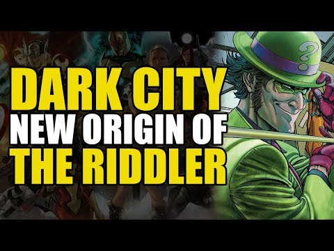 Batman Rebirth War of Jokes and Riddles Prelude: Riddler's Origin