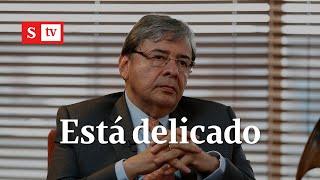 Ministro Carlos Holmes Trujillo está con ventilación mecánica por coronavirus | Semana Noticias