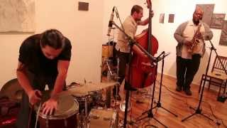 Wanderlust [Niggenkemper / Jones / Nakatani] - first set - at 109 Gallery, Brooklyn - Dec 12 2012