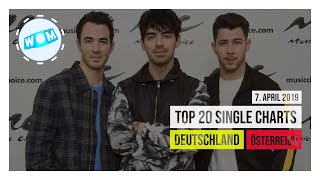 TOP 20 SINGLE CHARTS ♫ 7. APRIL 2019