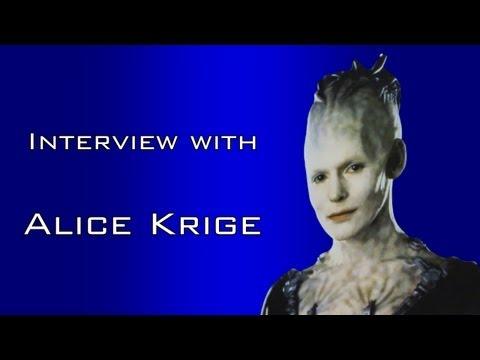"*CELEBRITY INTERVIEW* with ""Alice Krige"" Cardiff Film & Comic-Con (CFCC)"