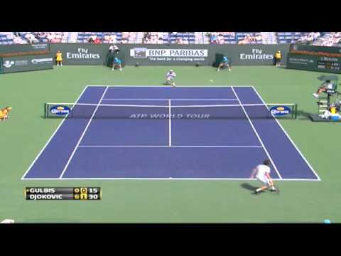 Djokovic vs Gulbis - Indian Wells 2011