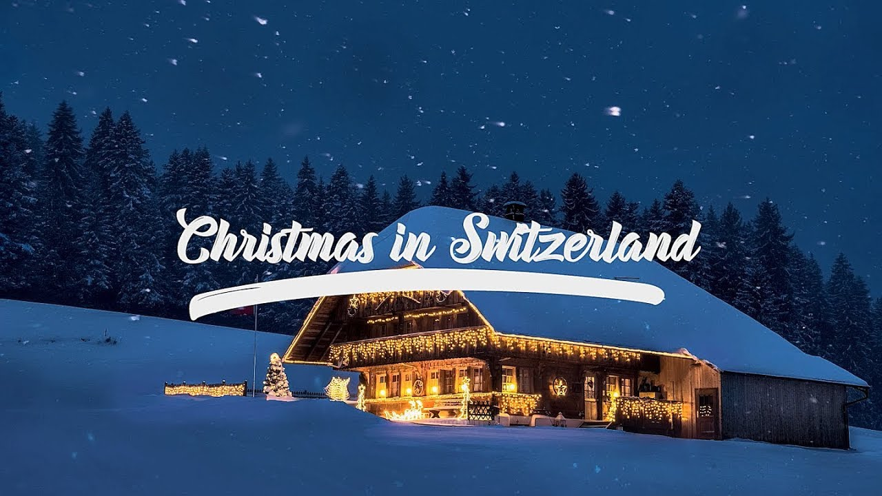 Christmas In Switzerland.Scenic Alps By Rail Christmas In Switzerland Edition