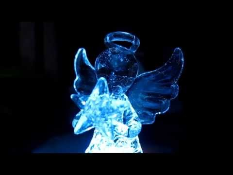 Рождественский ангел с подсветкой