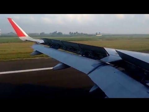 AIRASIA INDIA A320-212 LANDING CHENNAI